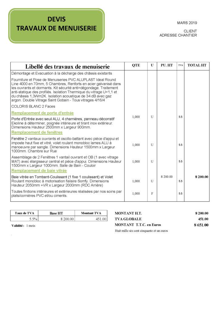 Rénovation de menuiserie à Lille